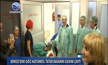 Tataristan Sağlık Bakanı Göz Akademi'de